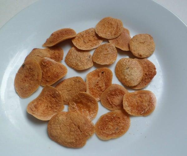 Sun Dried Crispy Lentil Chips