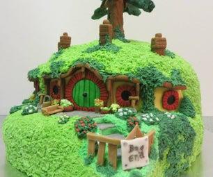 Bag End Cake