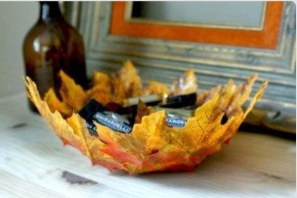 Homemade Leaf Bowl