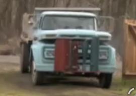 Tree Powered Dump Truck