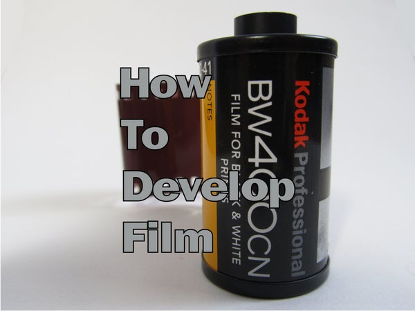 How to Develop Film