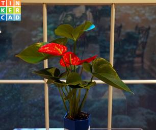 DIY Customizable Self Watering Planter (3D Printed)