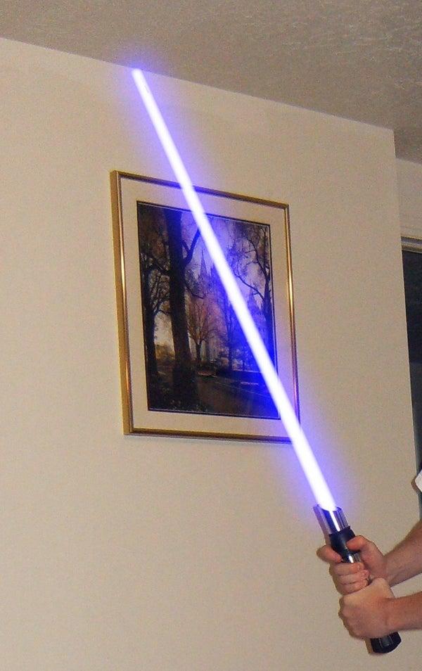 Lightsaber Blade Effect for Free