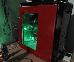 DiY Computer CPU Case With LED