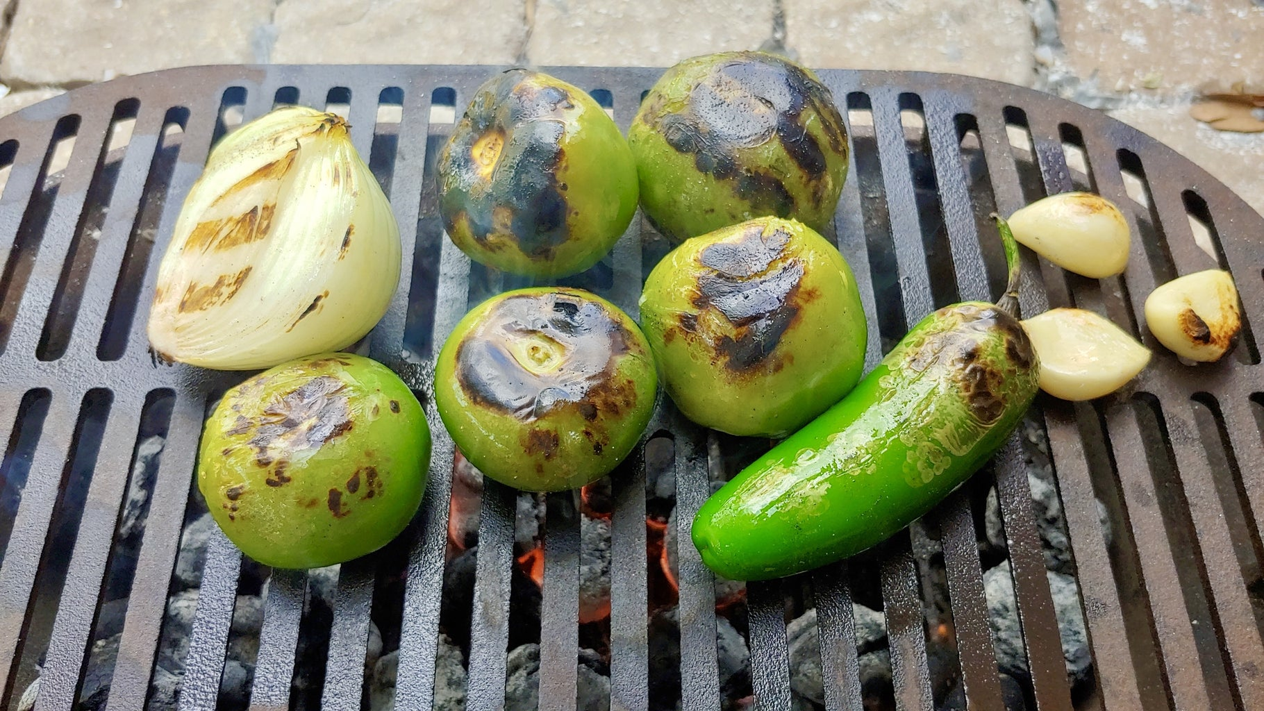 Charred Salsa Verde