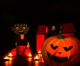 DIY Creepy Frankenstein Halloween Doll - Trick or Treat Halloween Prank