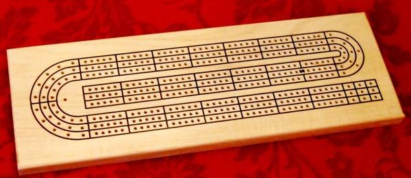 CNC Cribbage Board