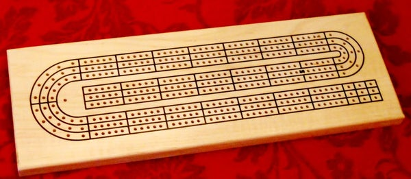 CNC Cribbage Board