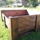 Old crate Doggy bed