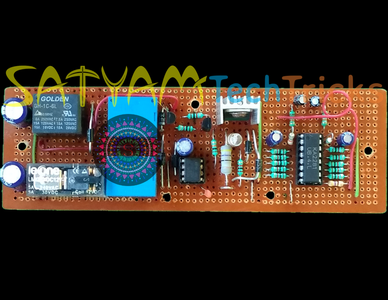 VU Meter and Touch Switch Circuit-1