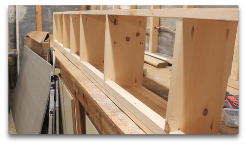 Cutting the Mounting Blocks