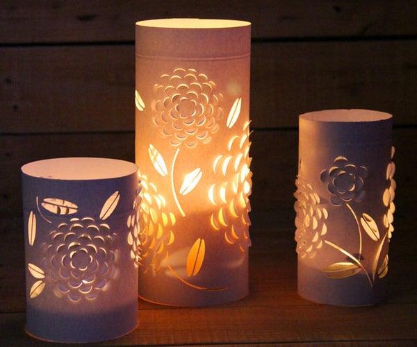 Dimensional Paper Lanterns