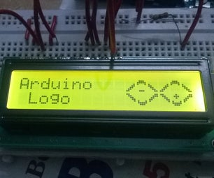 Arduino Bit Mappig on LCD With LOGO