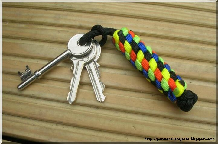 Paracord - 5 color Key Fob