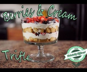 Mother's Day Berries & Cream Trifle