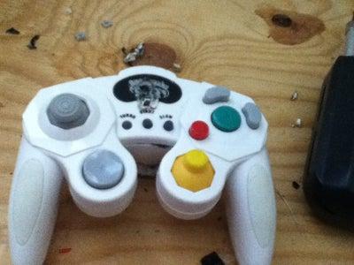 GameCube Controller Bike Light