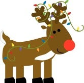 Cut Out Reindeer Pattern