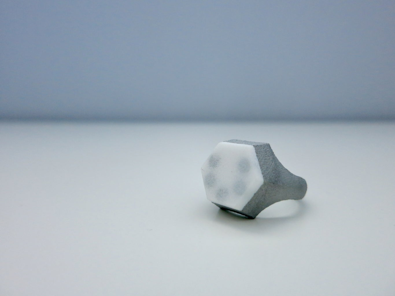 Bit Driver Ring (3D Printed, Wearable Hex Bit Driver)