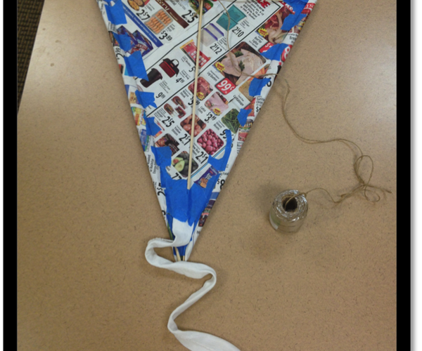 Make Your Own Kite in Less Than 20 Minutes!