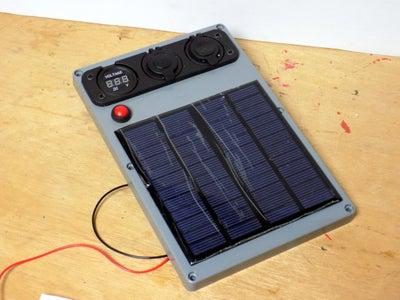 Attaching the Solar Panel