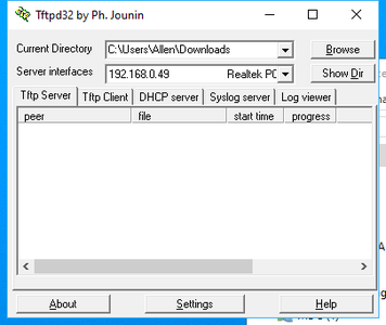Install the TFTPD Server on Your Computer