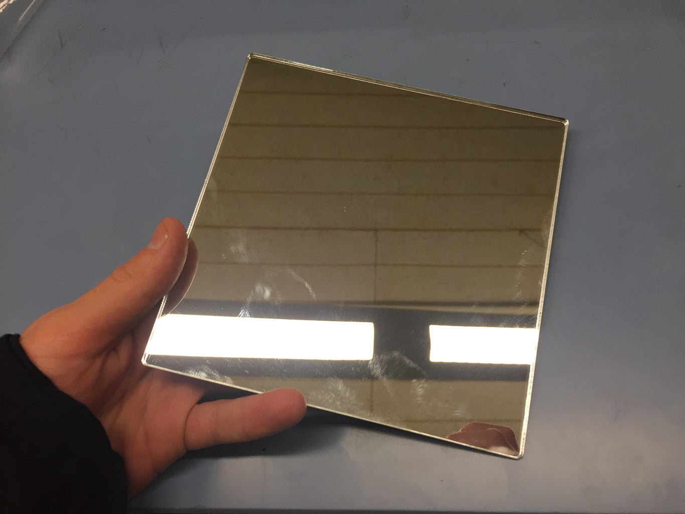 Glue/Duct Tape the Glass Where It Works Best for You