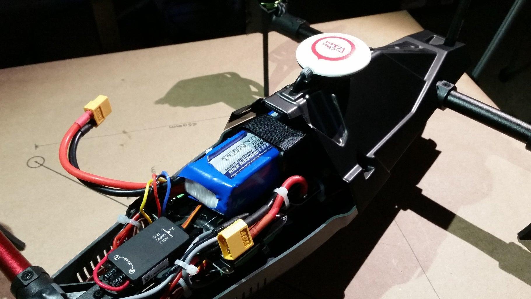 Insert the Battery