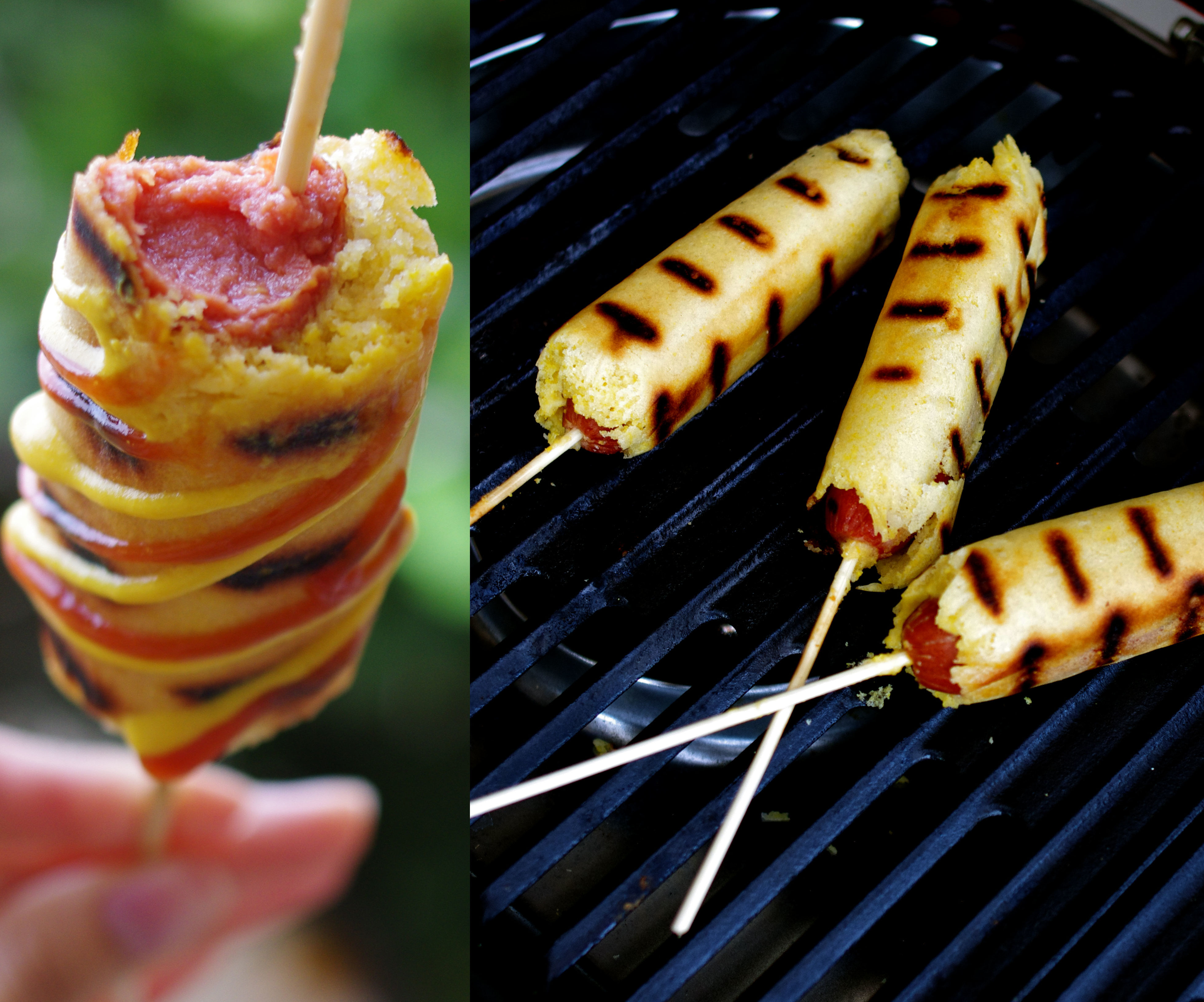 How to Make Corn Dogs on a Grill