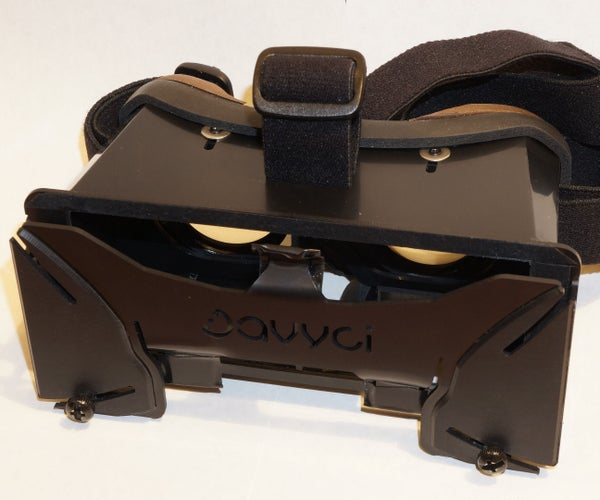 Initial Setup Adjustments for Virtual Reality (VR) Headset
