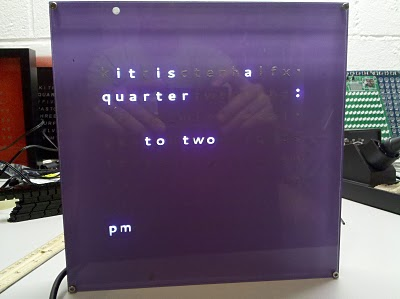 How to build C3Jr, a sophisticated word clock