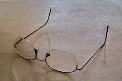 Eyeglass Repair--broken Monofilament Lens Retainer