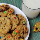 Peanut Butter Jumbo Cookies