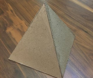 Cardboard Pyramid With Secret Compartment