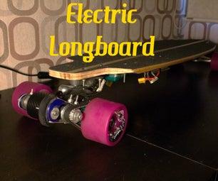 V3, No Weld, 3D Printed, Electric Longboard