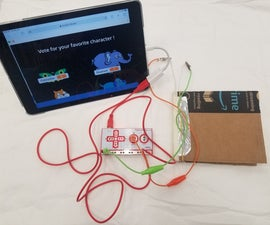Hands Free Voting Booth With Makey Makey