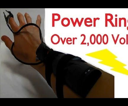 Power Ring! (Over 2,000 Volts!)