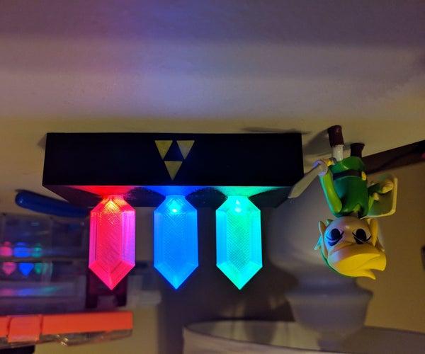 Legend of Zelda Rupee Nightlight
