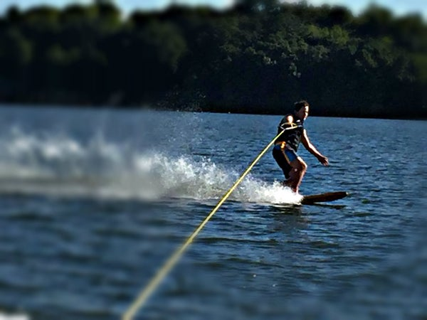 How to Build a Wood and Leather Water Ski