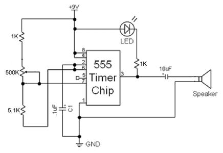 Oscillator for Driving a Speaker