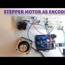 How to Use Stepper Motor As Rotary Encoder and OLED Display for Steps