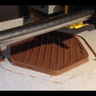 3D Printing with Chocolate Sandwich Spread