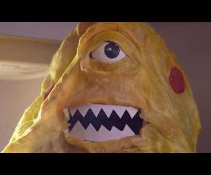 Animatronic Pizza Monster