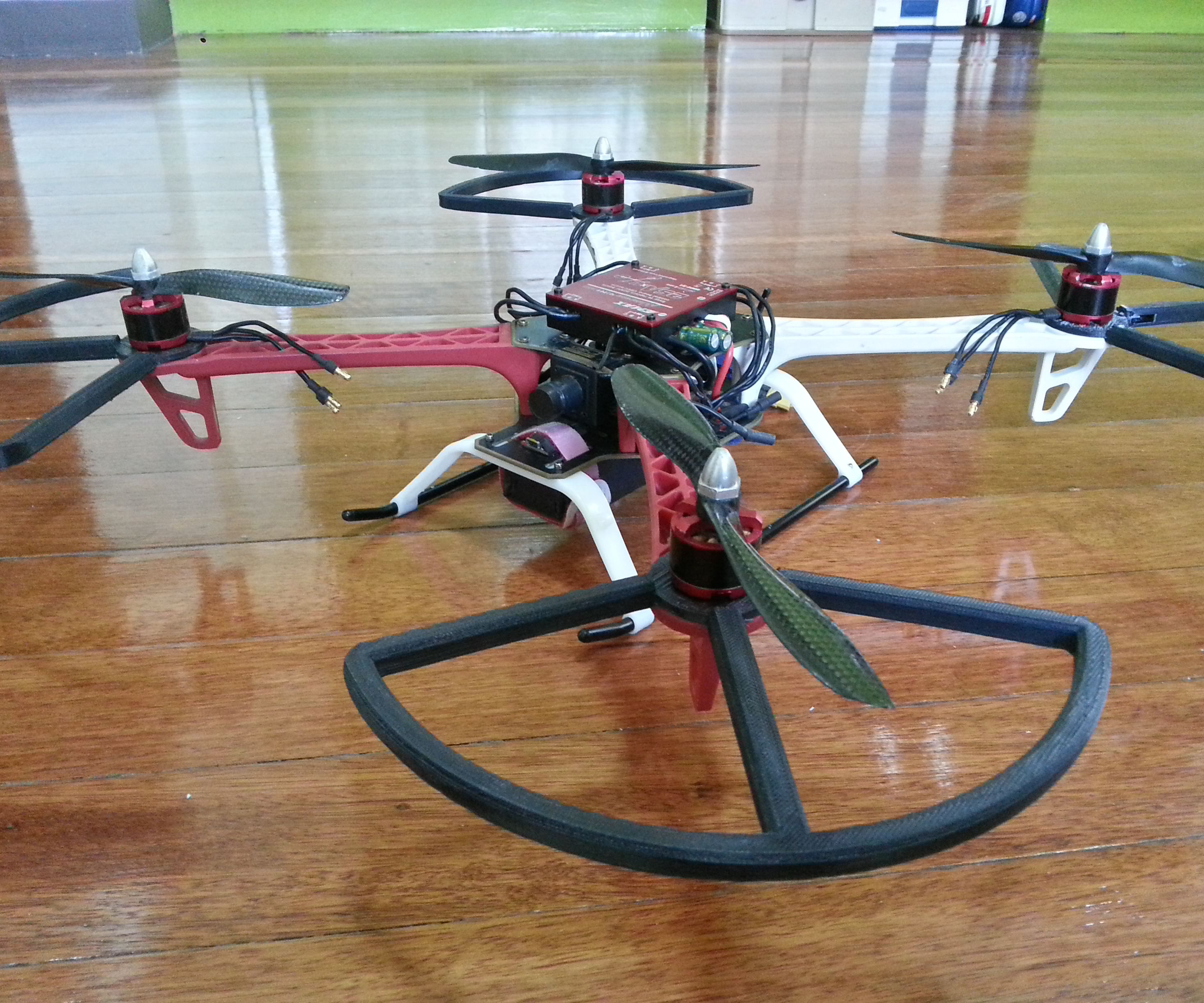 Quadcopter HACK! [Design and print your Propeller Guard]