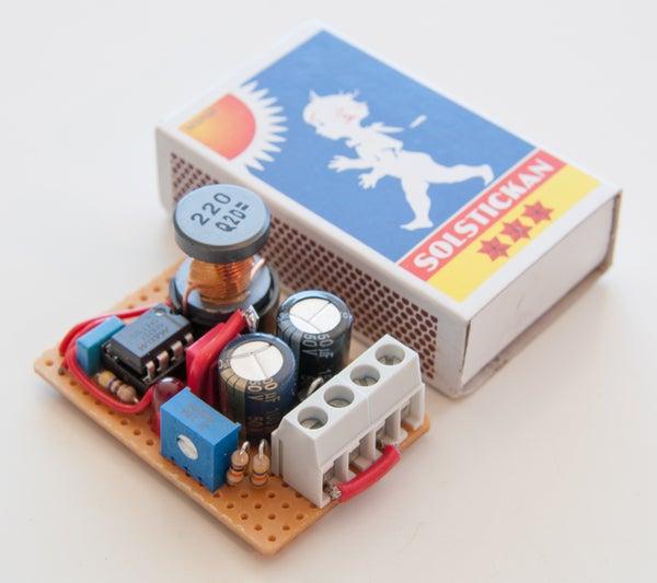 Adjustable Voltage Step-up (0.7-5.5V to 2.7-5.5V)