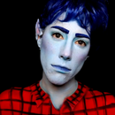 Simple Ian From Onward Makeup (Shirt Also Painted)