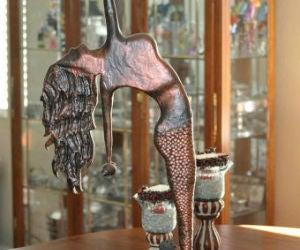 "Mermaid ""Bronze"" Using Foam"