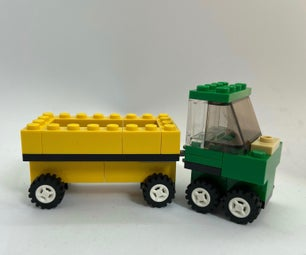 LEGO: truck and trailer