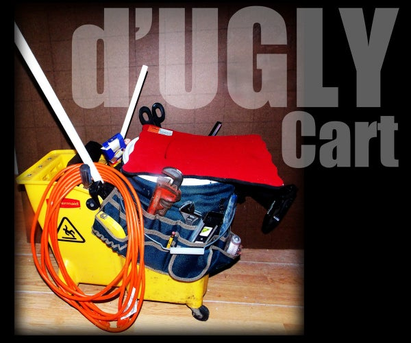 D'UGLY CART - a Rolling Tool-Caddy From Scrap