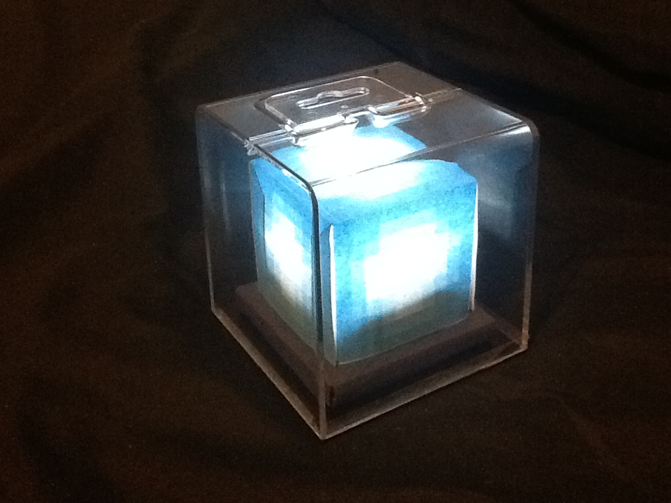 LED Minecraft Beacon