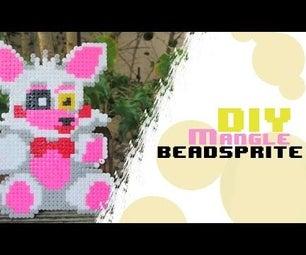 Plush Mangle From FNAF | Bead Sprites (Perler/Hama/Arktal Beads)